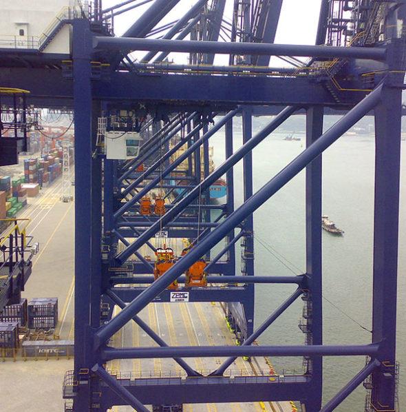 Anticoll Crane 2 Crane